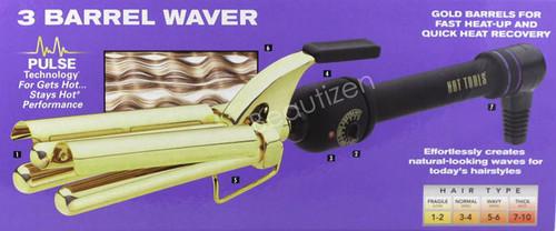 Hot Tools 3 Barrel Waver