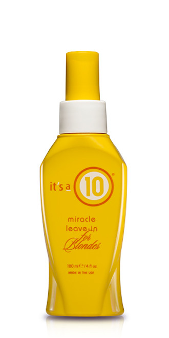 It's A 10 Miracle Leave-in For Blondes