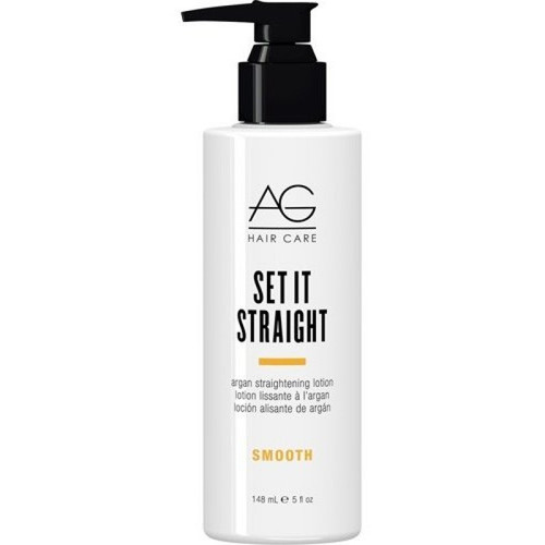 AG Smooth Set It Straight Argan Infused Straightening Lotion