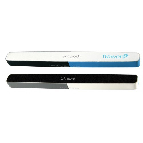 Flowery 6-Pack All-In-One Buffer and Nail File