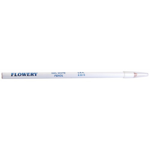 Flowery 4-in-1 Nail White Pencil