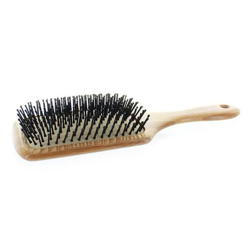 Elegant Large bamboo paddle Pin Brush