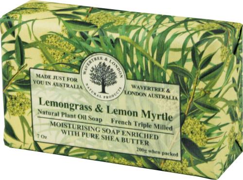 Wavertree & London Lemongrass & Lemon Myrtle French Milled Australian Natural Soap