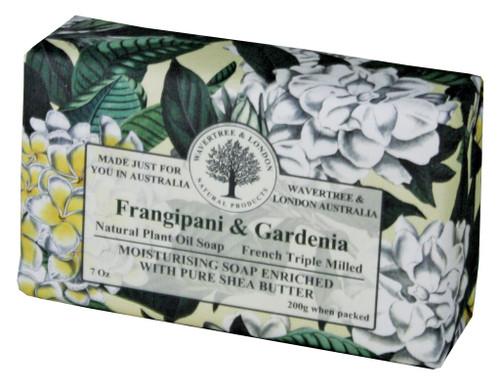 Wavertree & London Frangipani & Gardenia French Milled Australian Natural Soap