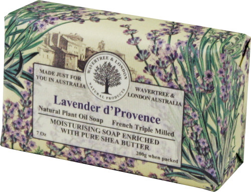 Wavertree & London Lavender D'Provence French Milled Australian Natural Soap