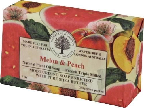 Wavertree & London Melon & Peach French Milled Australian Natural Soap