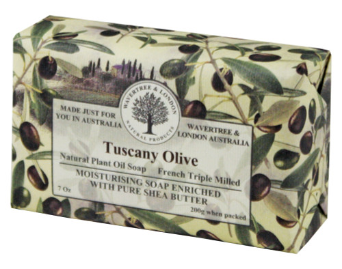 Wavertree & London Tuscany Olive French Milled Australian Natural Soap