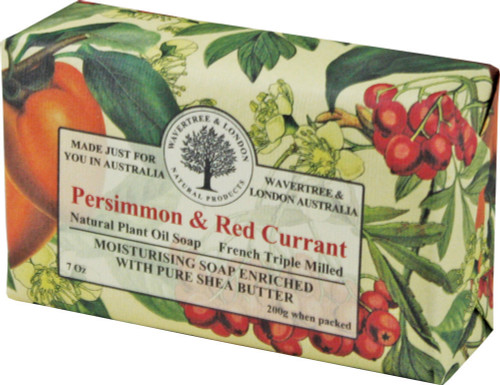 Wavertree & London Persimmon & Red Currant French Milled Australian Natural Soap
