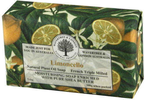 Wavertree & London Limoncello French Milled Australian Natural Soap