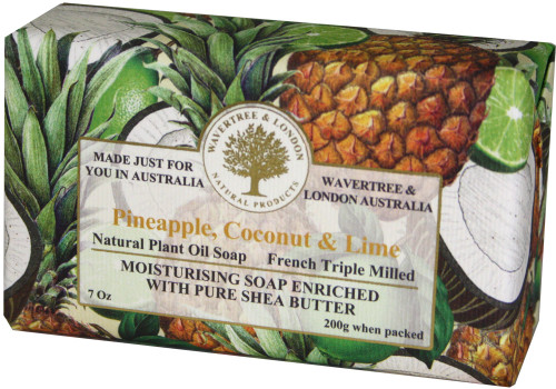 Wavertree & London Pineapple, Coconut & Lime French Milled Australian Natural Soap