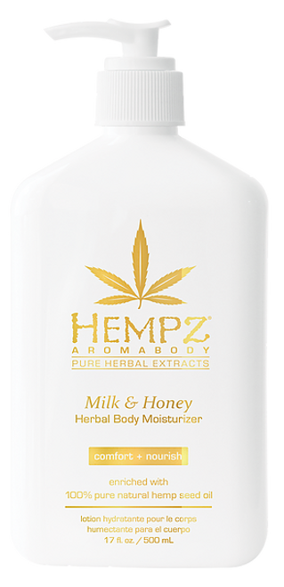 Hempz Milk & Honey Aromabody Herbal Body Moisturizer