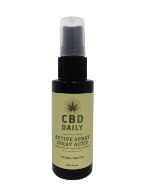 Earthly Body CBD Daily Active Spray
