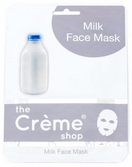 The Crème Shop Milk Face Mask - Brightening Facial Sheet Mask