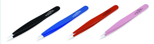 tweezerman point tweezer assorted colors