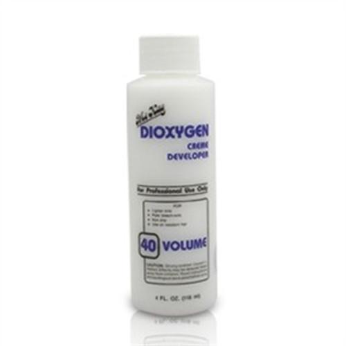 dioxygen 40 volume cream developer