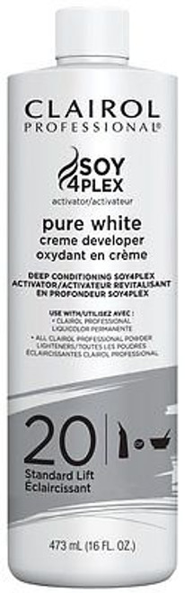 clairol purewhite 20 vol developer