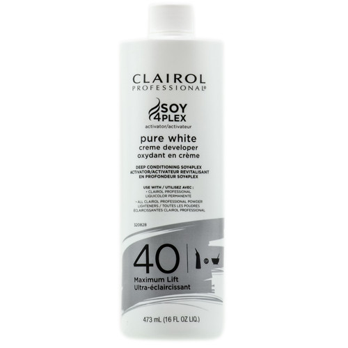 Clairol Pure White 40 vol cream developer