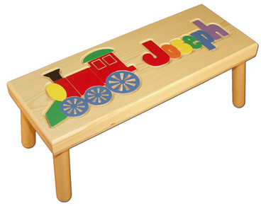 Name And Train Personalized Puzzle Step Stool