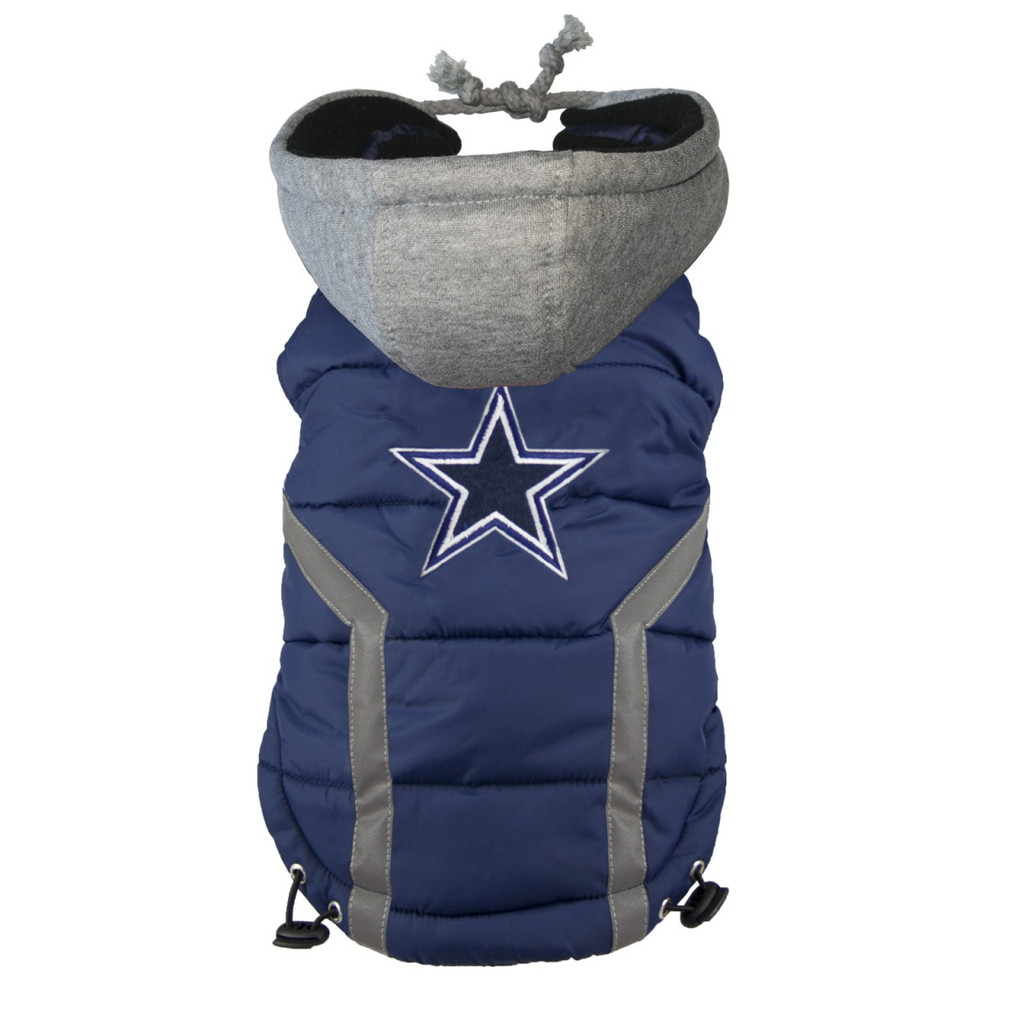 NFL Dallas Cowboys Dog Puffer Vest