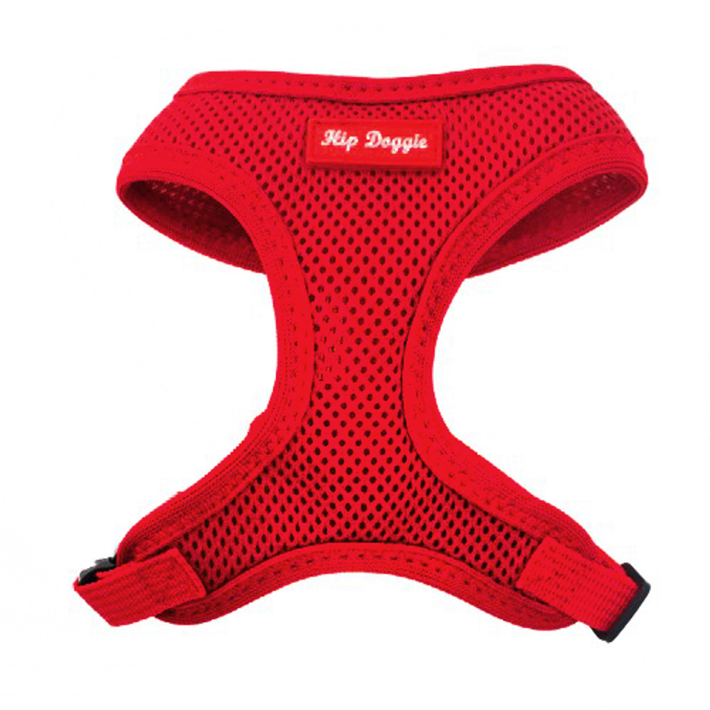 Soft Red Mesh Harness