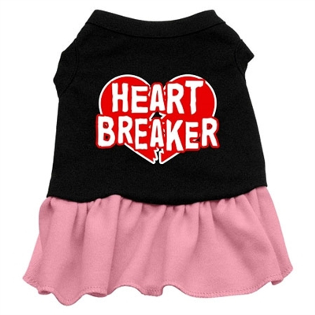 Heart Breaker Dress- Pink