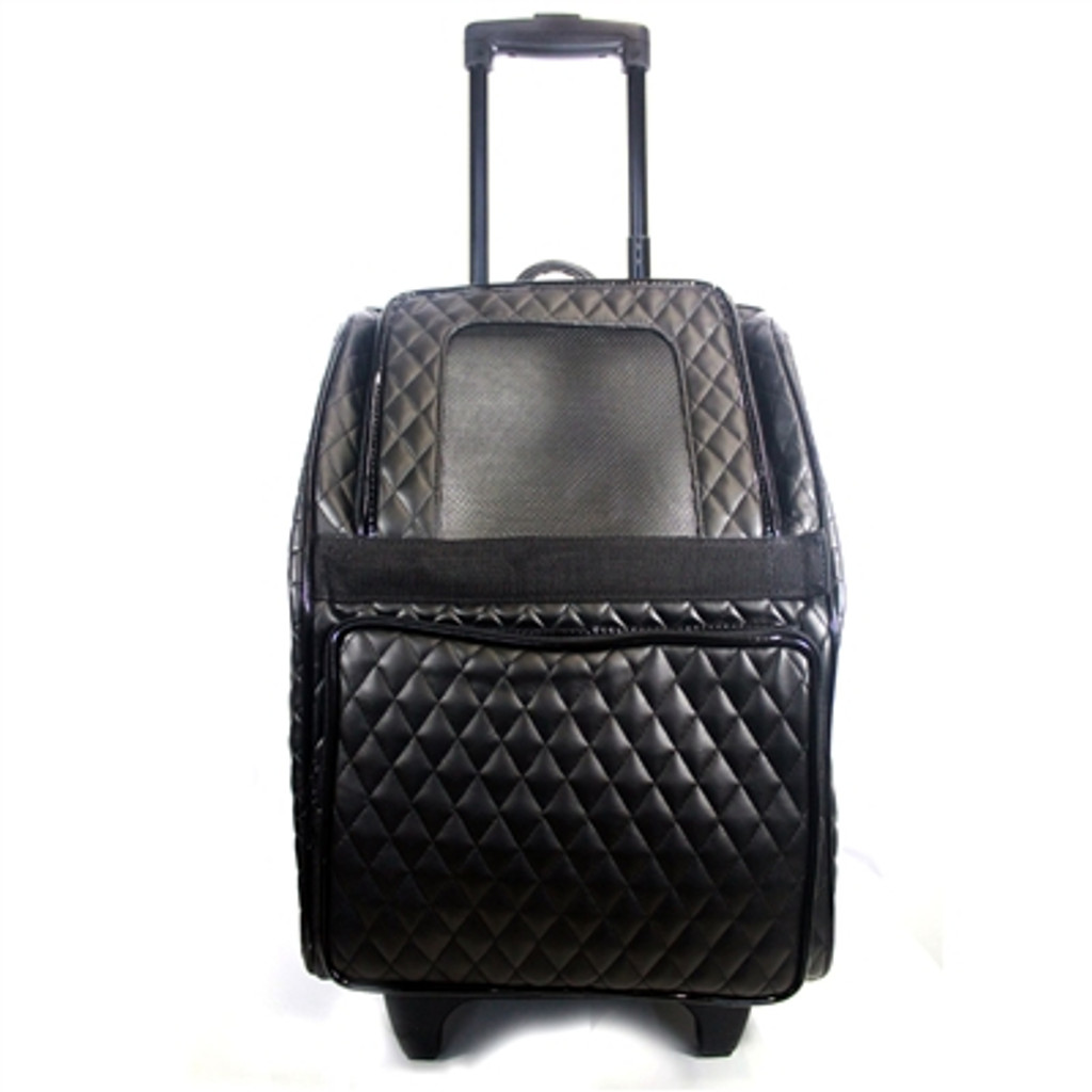 Modern Rolling Carrier - QUILTED Black
