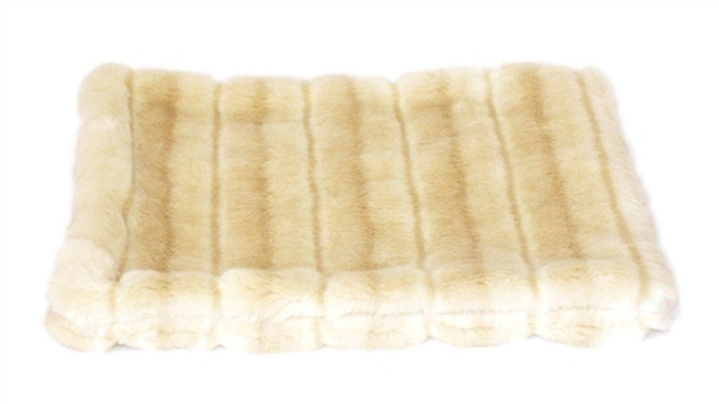 Camel Mink All Plush Crate Liner