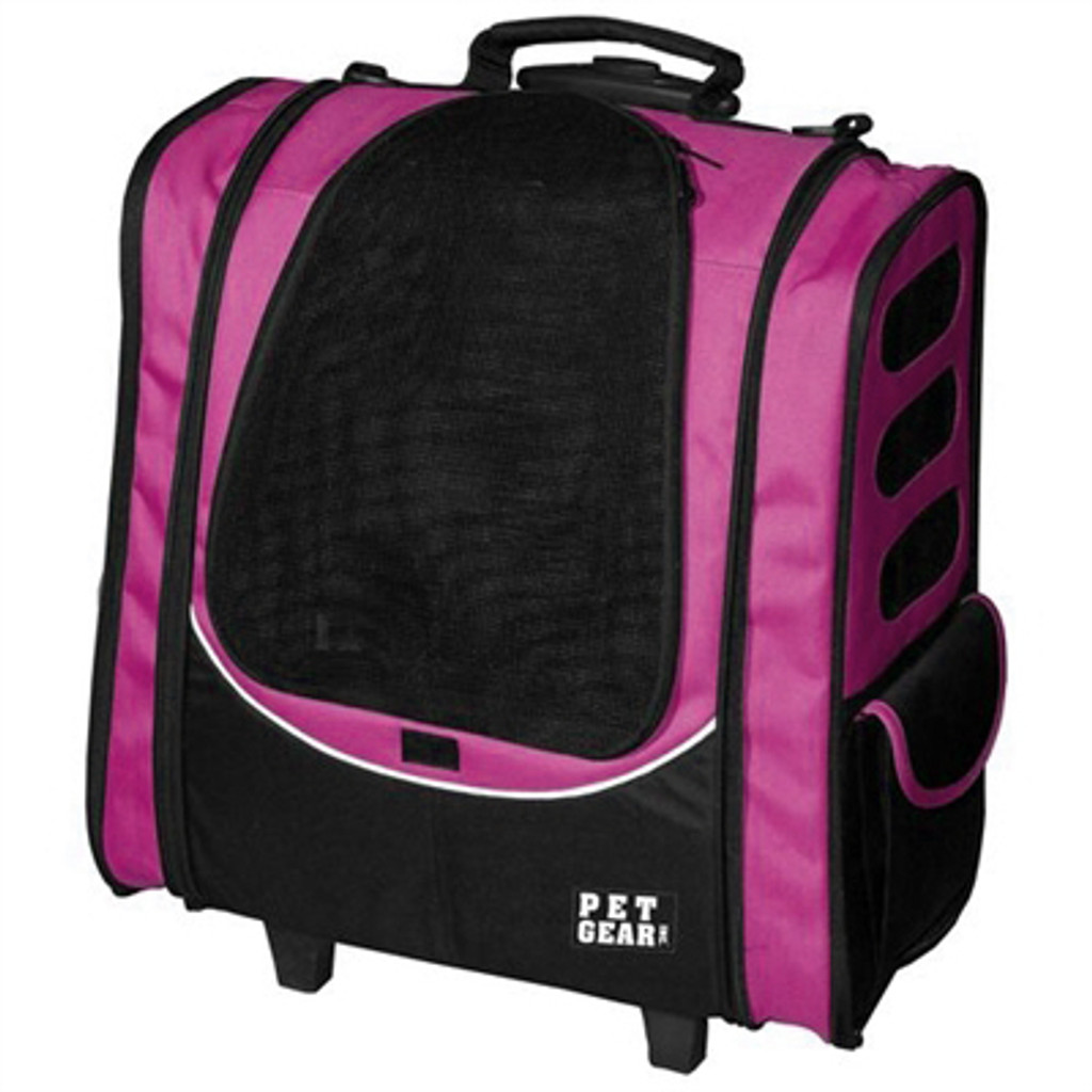 Pet Gear I-GO2 Escort Roller-Backpack - Pink