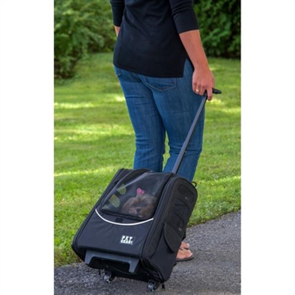 I-GO2 Traveler Dog Roller-Backpack - Lavender