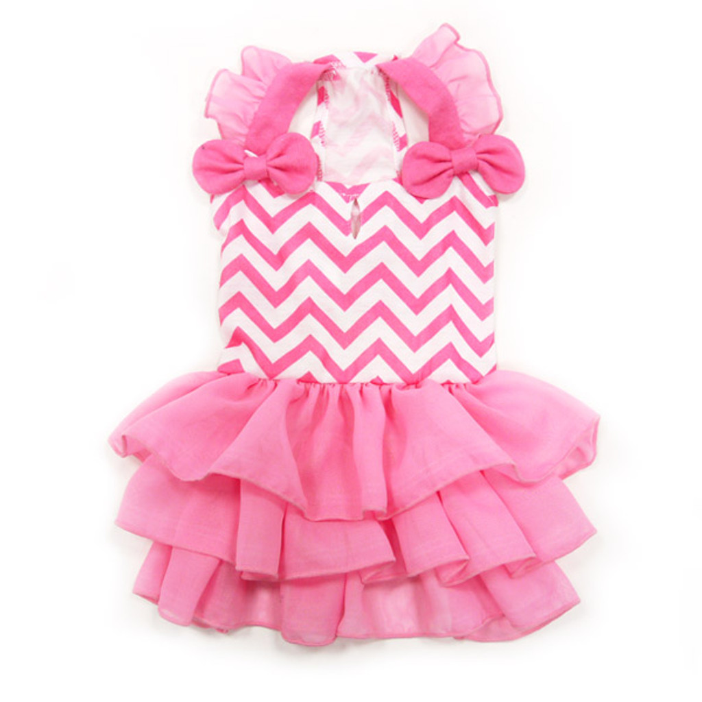Dogo Dog Chevron Dress