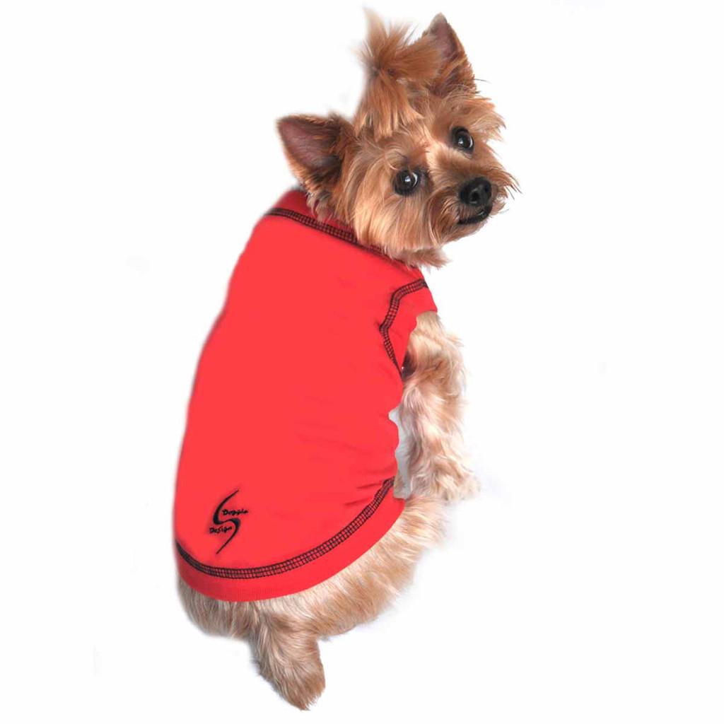 Sport Dog Tank Top - Scarlet Red