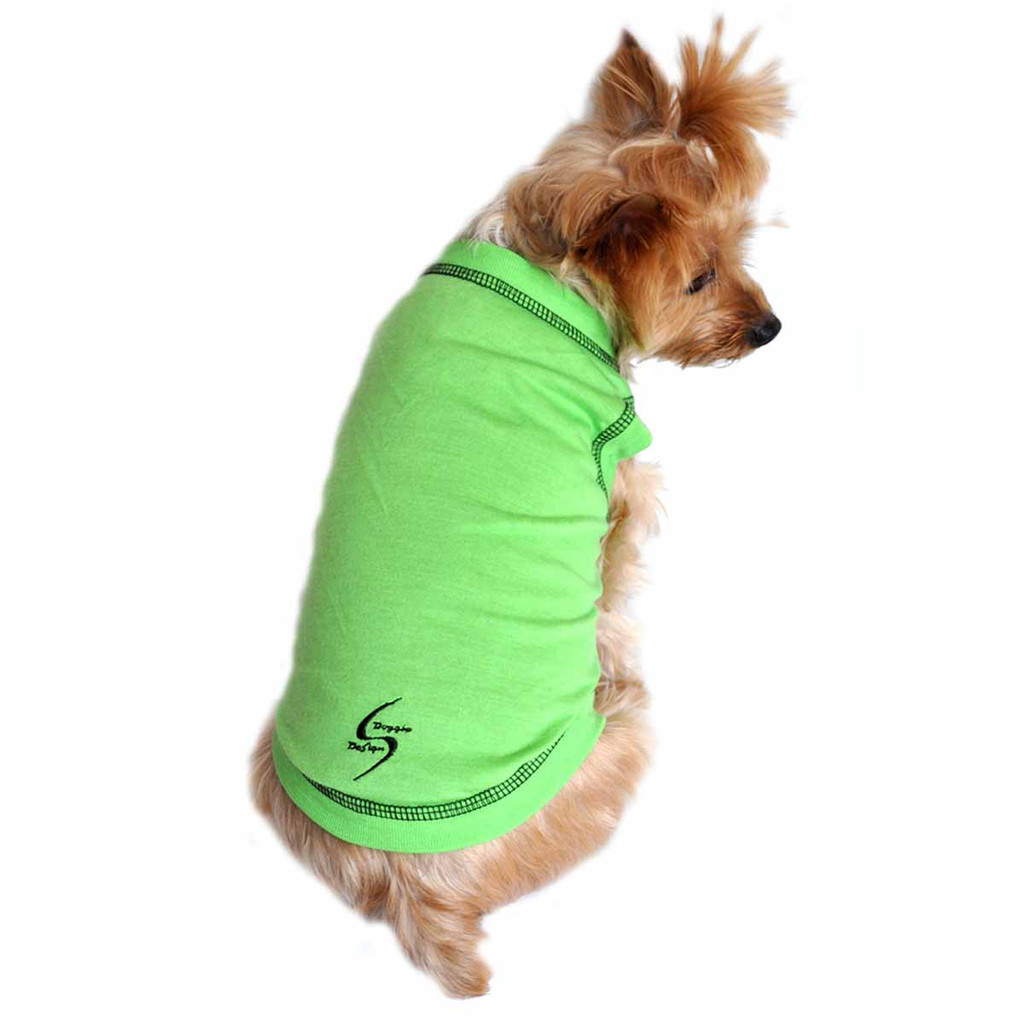 Sport Dog Tank Top - Green Flash