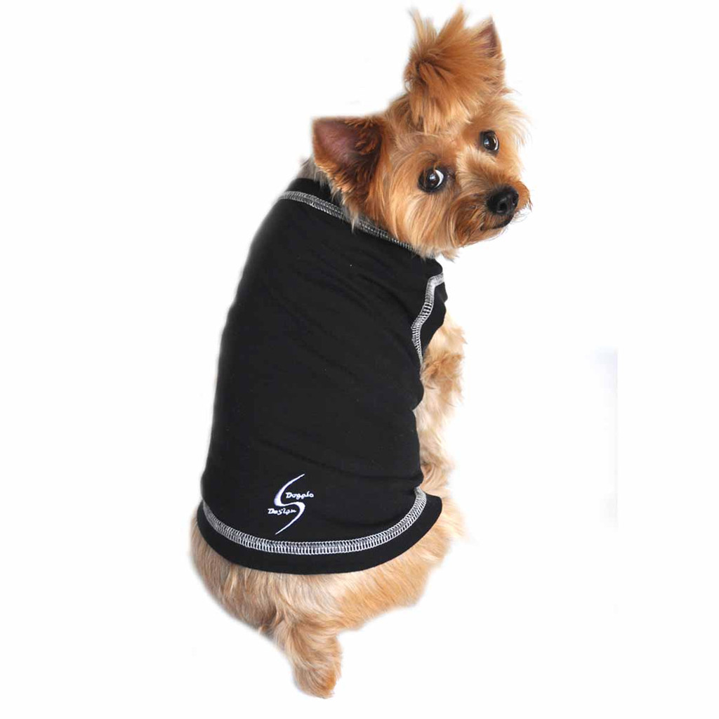 Sport Dog Tank Top - Jet Black