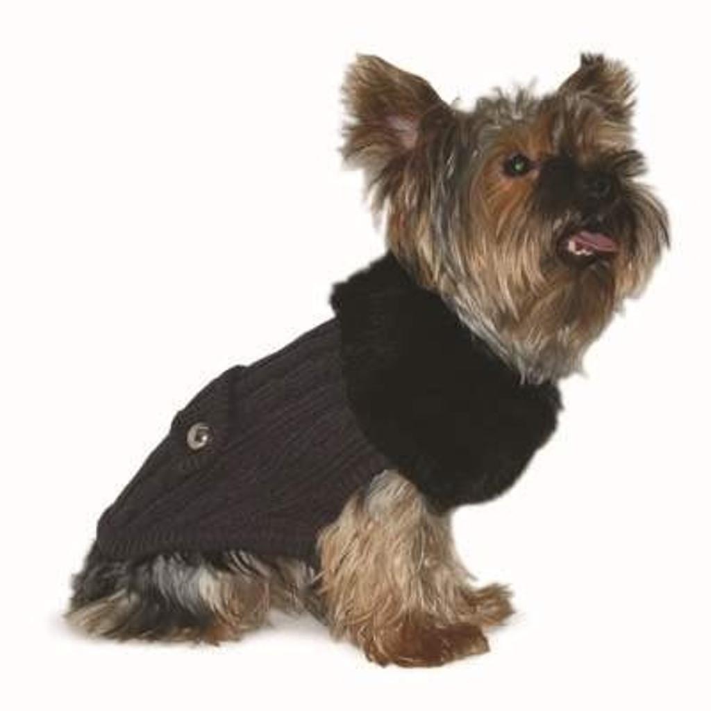 Luxy Fur Sweater - Gray