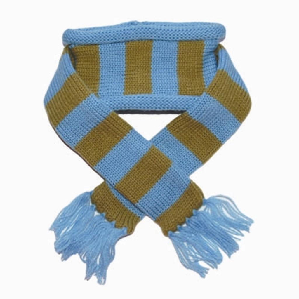 Urban Stripe Scarf Blue