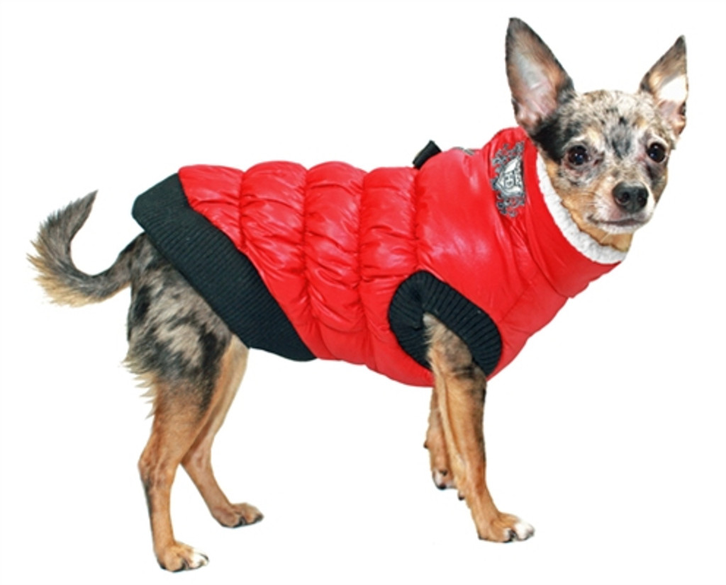 HD Crown Puffer Vest - Red