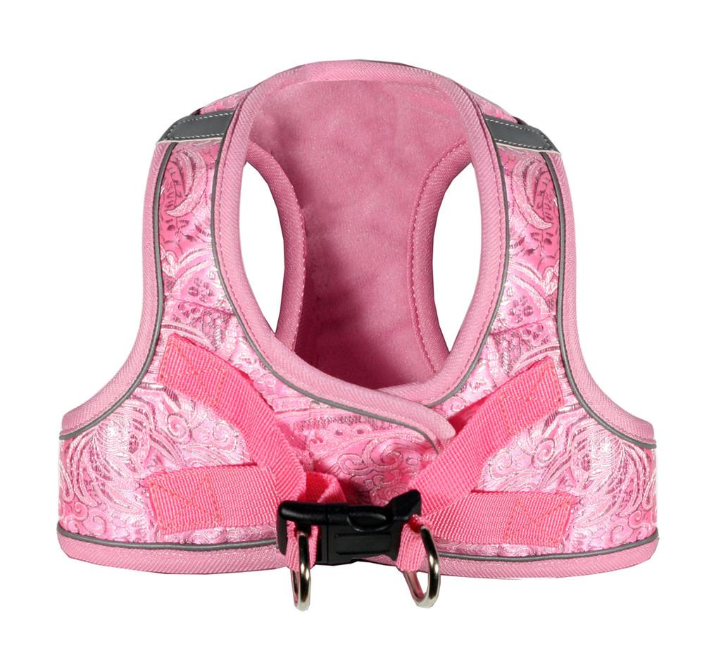 EZ Reflective Royal Elegance Harness Vest - Pink
