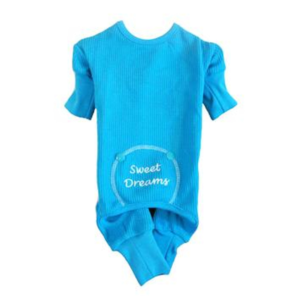 Blue Sweet Dreams Thermal Pajamas
