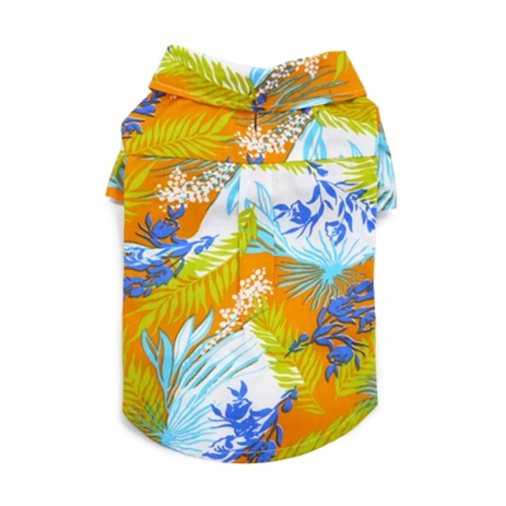 Tropical Island Shirt-Orange