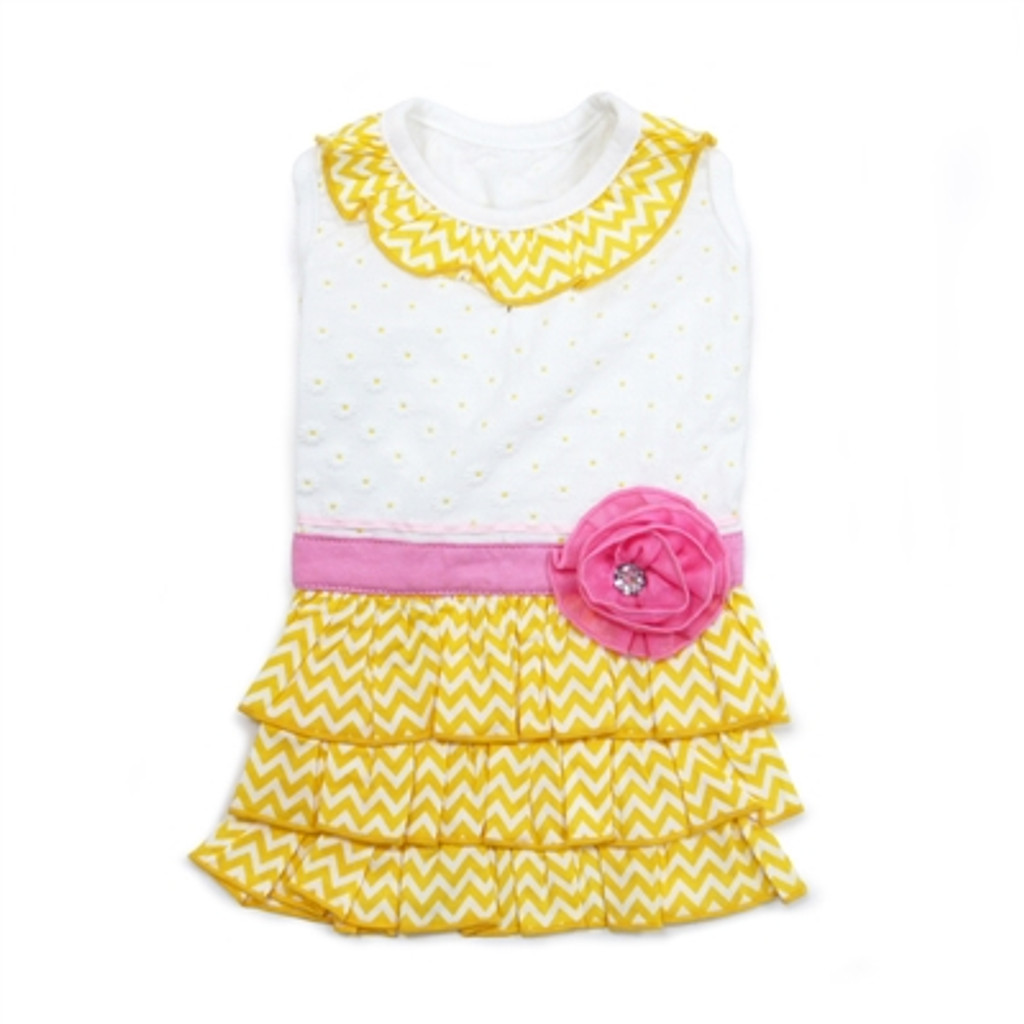 Sunshine Chevron Dress