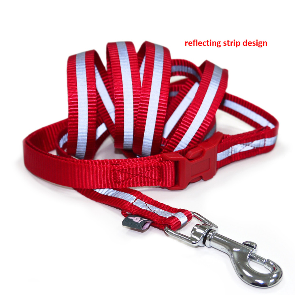 SnapGo Leash Red