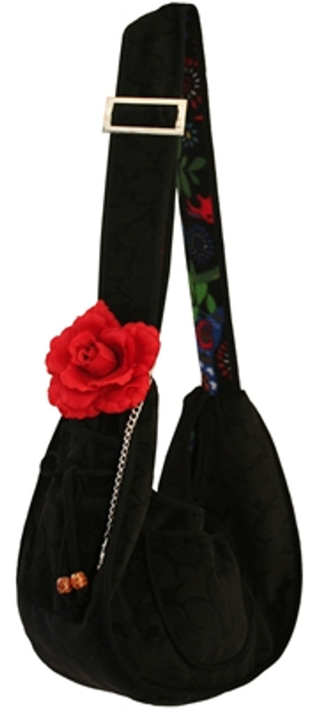 Midnight Minx Puppy Sling Pouch