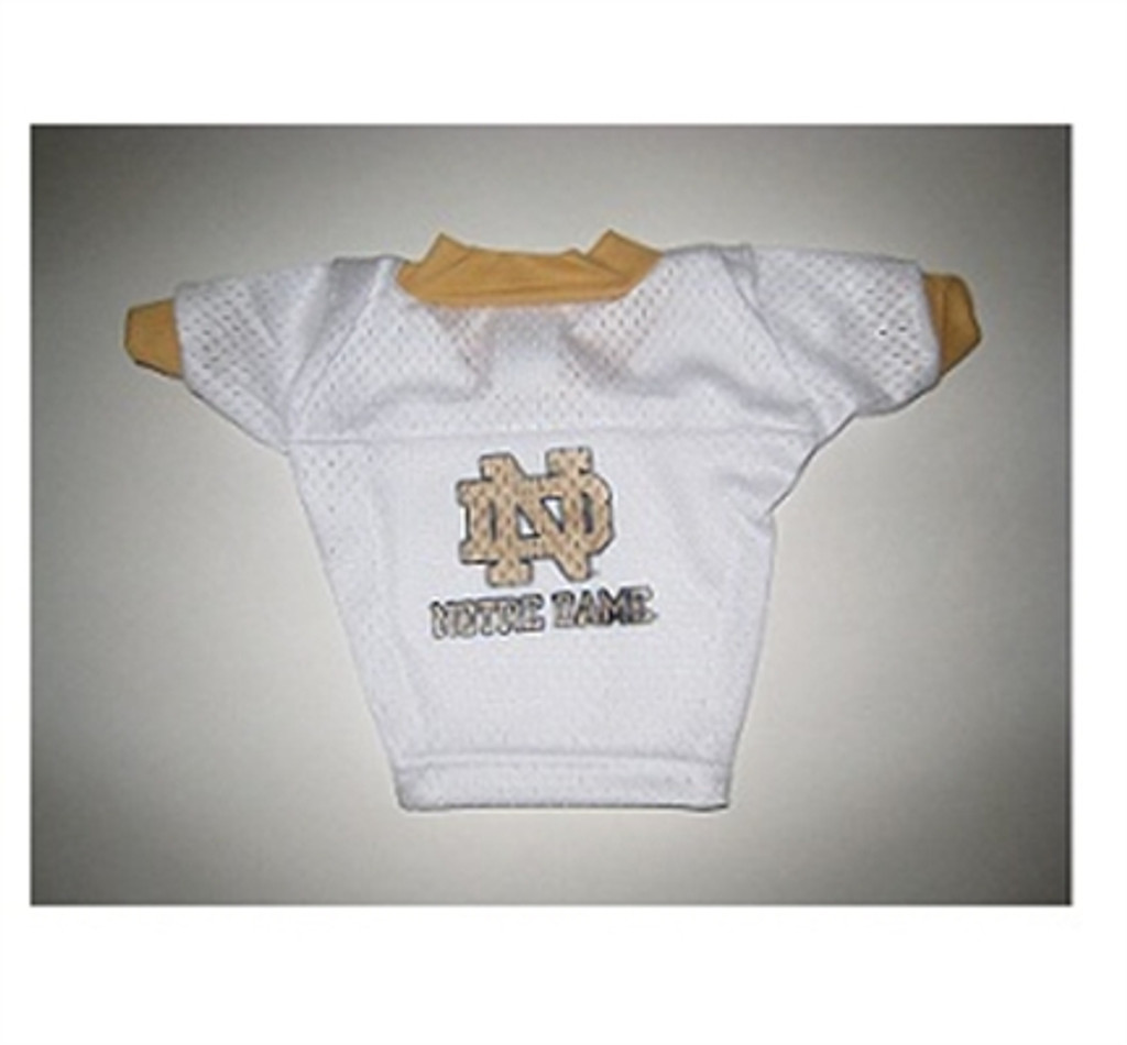 Notre Dame White Dog Jersey