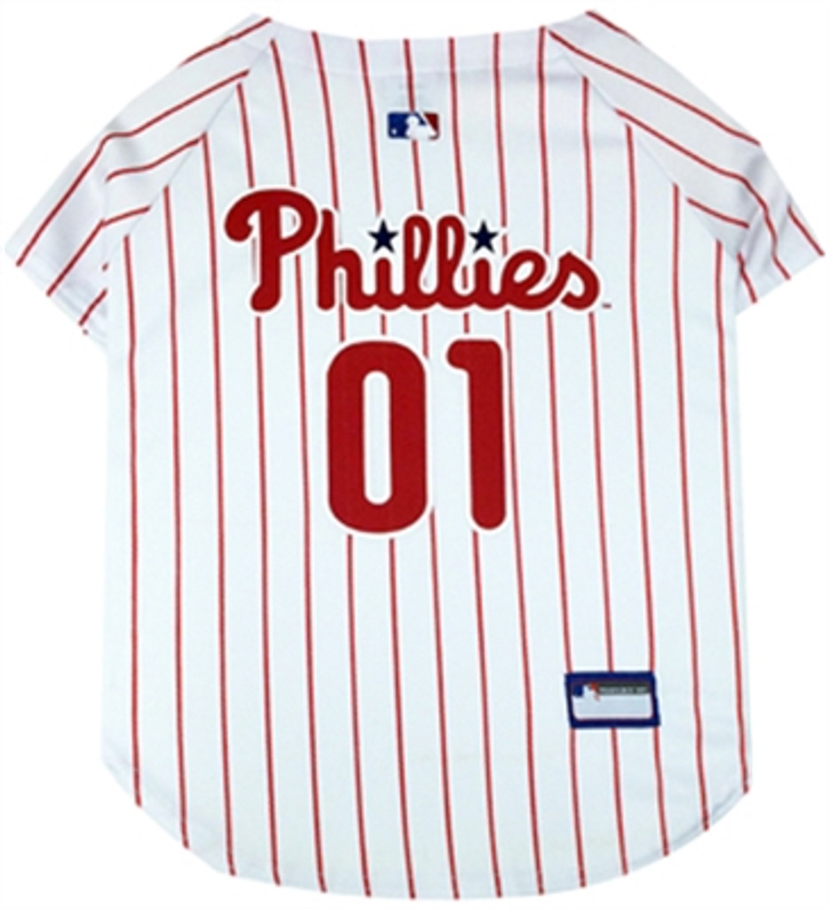 Philadelphia Phillies Dog Jersey - w/red stripes