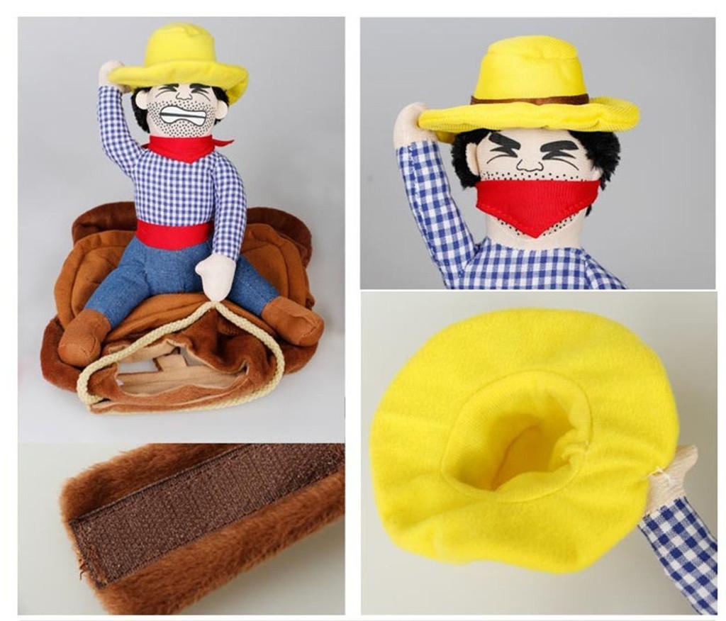 Cowboy Rider Dog Costume