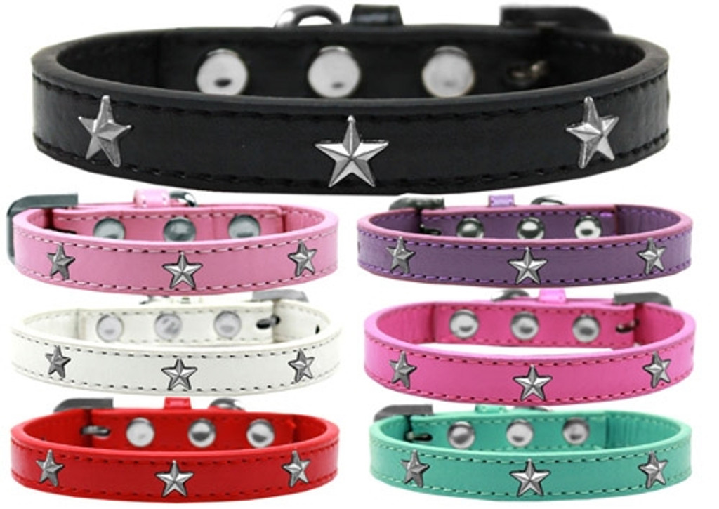 Silver Star Widget Dog Collar