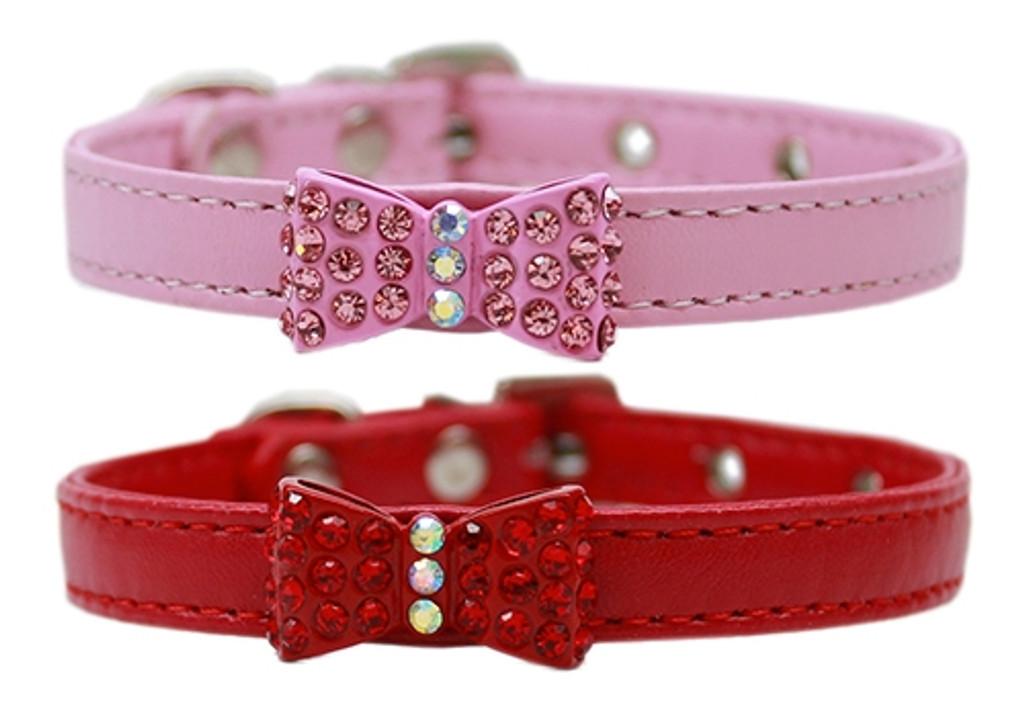 Bow-dacious Crystal Collars