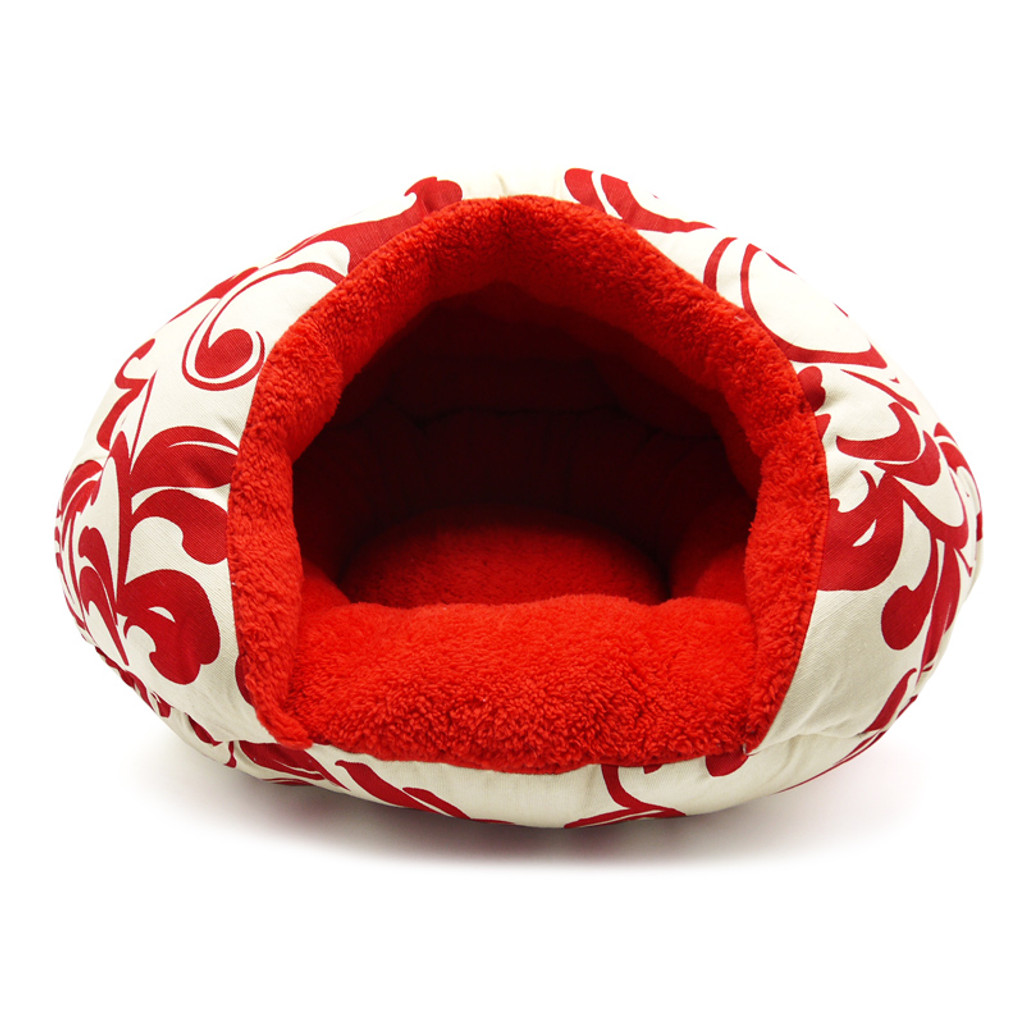 Burger Bed Red Floral
