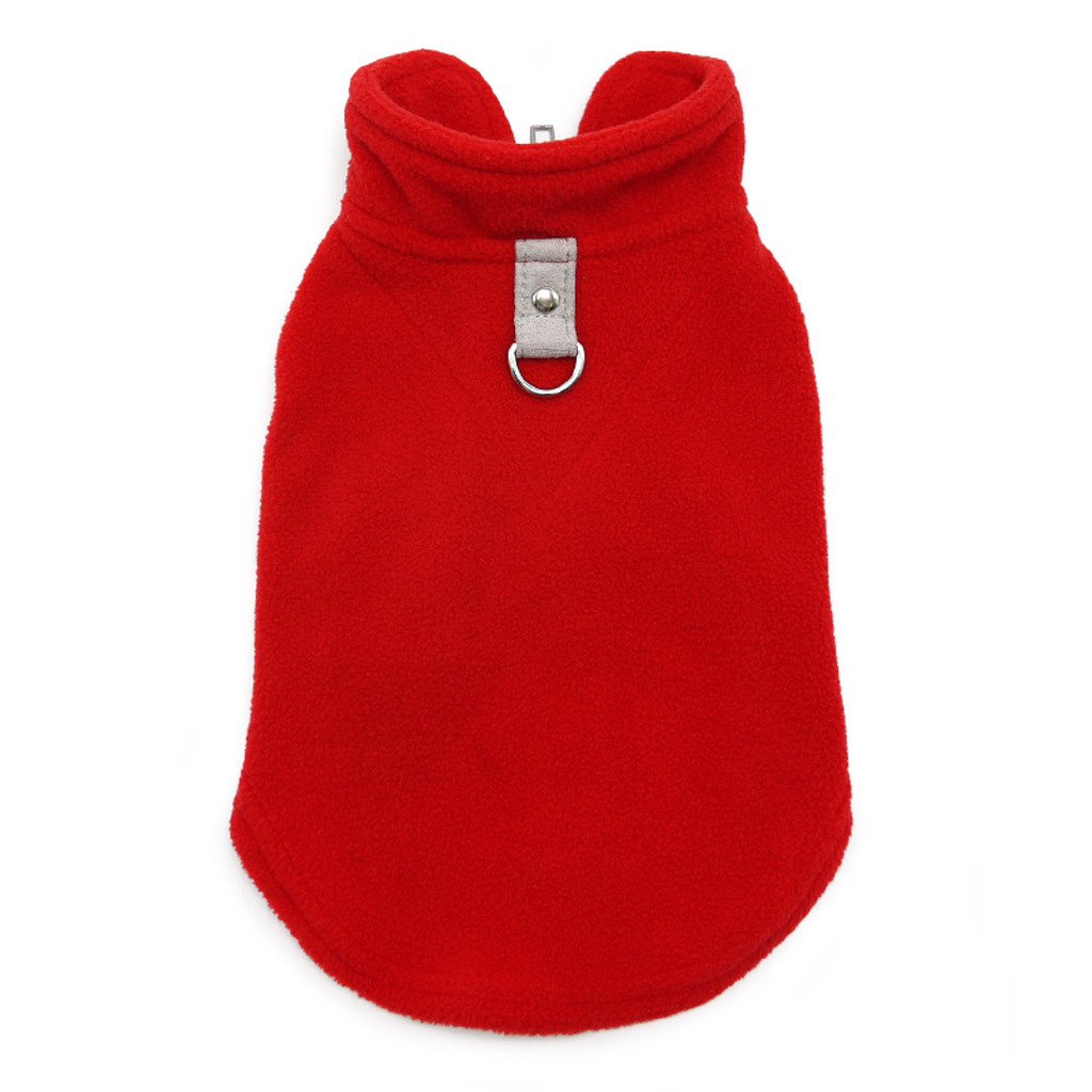 PP Essential Fleece Vest - Red