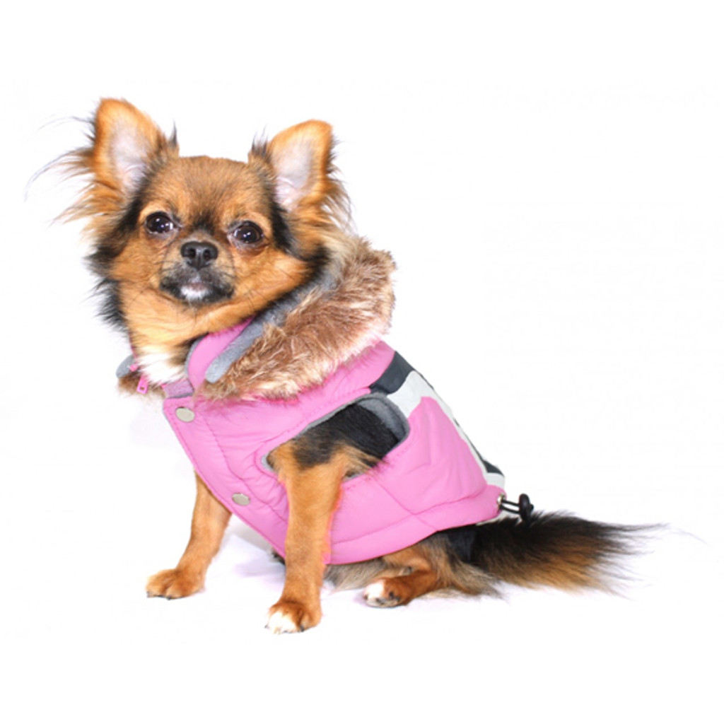 Swiss Ski Jacket - Pink